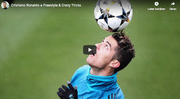 CR7 - freestyle voetbal skills