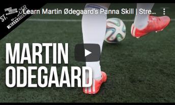 Martin Odegaard - Panna skill