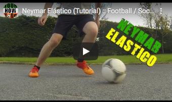 Neymar elastico - voetbaltruc