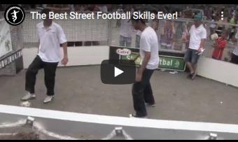 Straat trucjes - streetsoccer skills