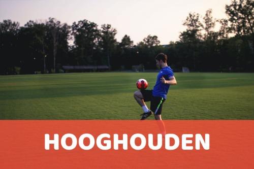 Voetbal-hooghouden