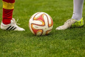 Reflex oefening - voetbal training