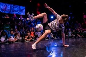 Freestyle voetballer - NK Freestyle Voetbal