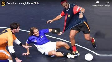 Ronaldinho Futsal Skills en Goals