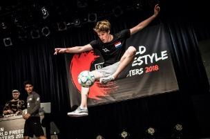Freestyle voetballer Jesse Marlet - freestyler