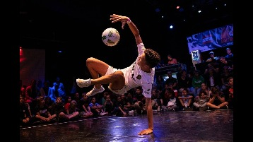 Hugo Vliese - Freestyle voetballer - freestyler